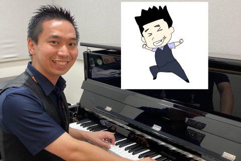 スタッフ写真ピアノインストラクター紺野