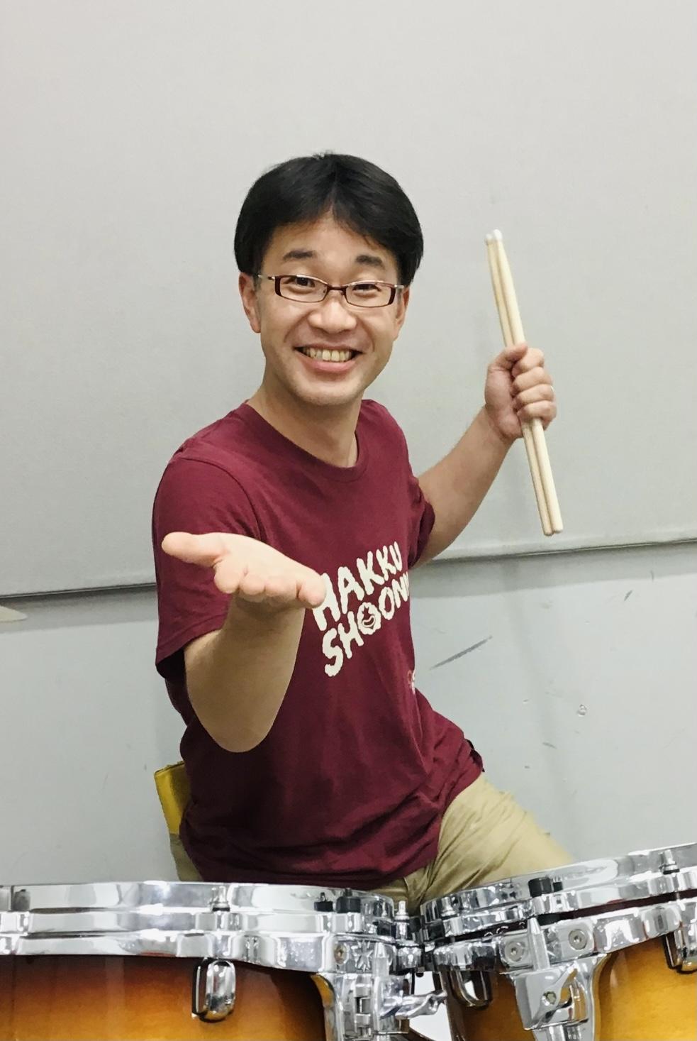 春日部 火曜日 ドラム 教室 寺岡先生