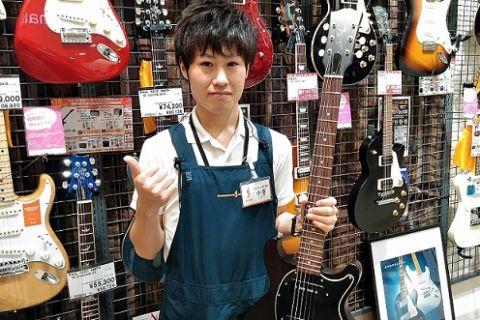 スタッフ写真エレキギター、エレキベース、アンプ、エフェクター小菅