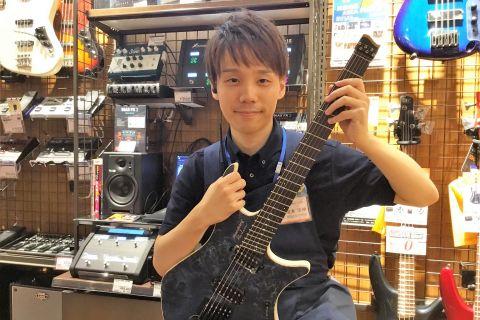 スタッフ写真エレキギター・エフェクター尾本