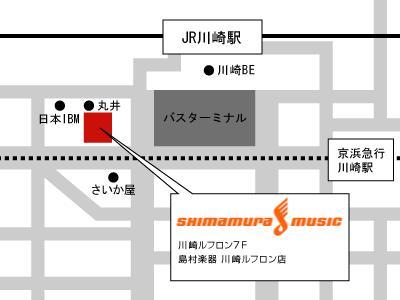 川崎ルフロン店MAP