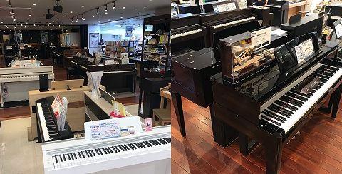 電子ピアノフロア