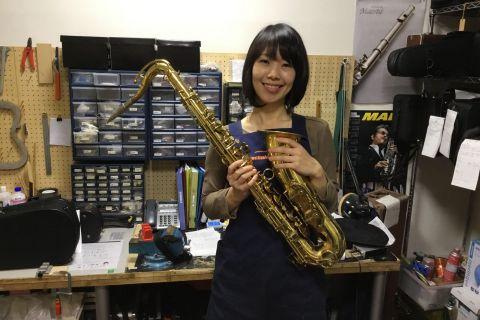 スタッフ写真管楽器修理櫻井