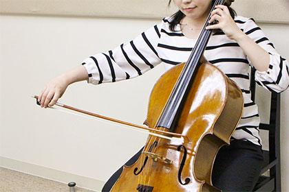 島村楽器チェロ講師が選定のお手伝いをいたします