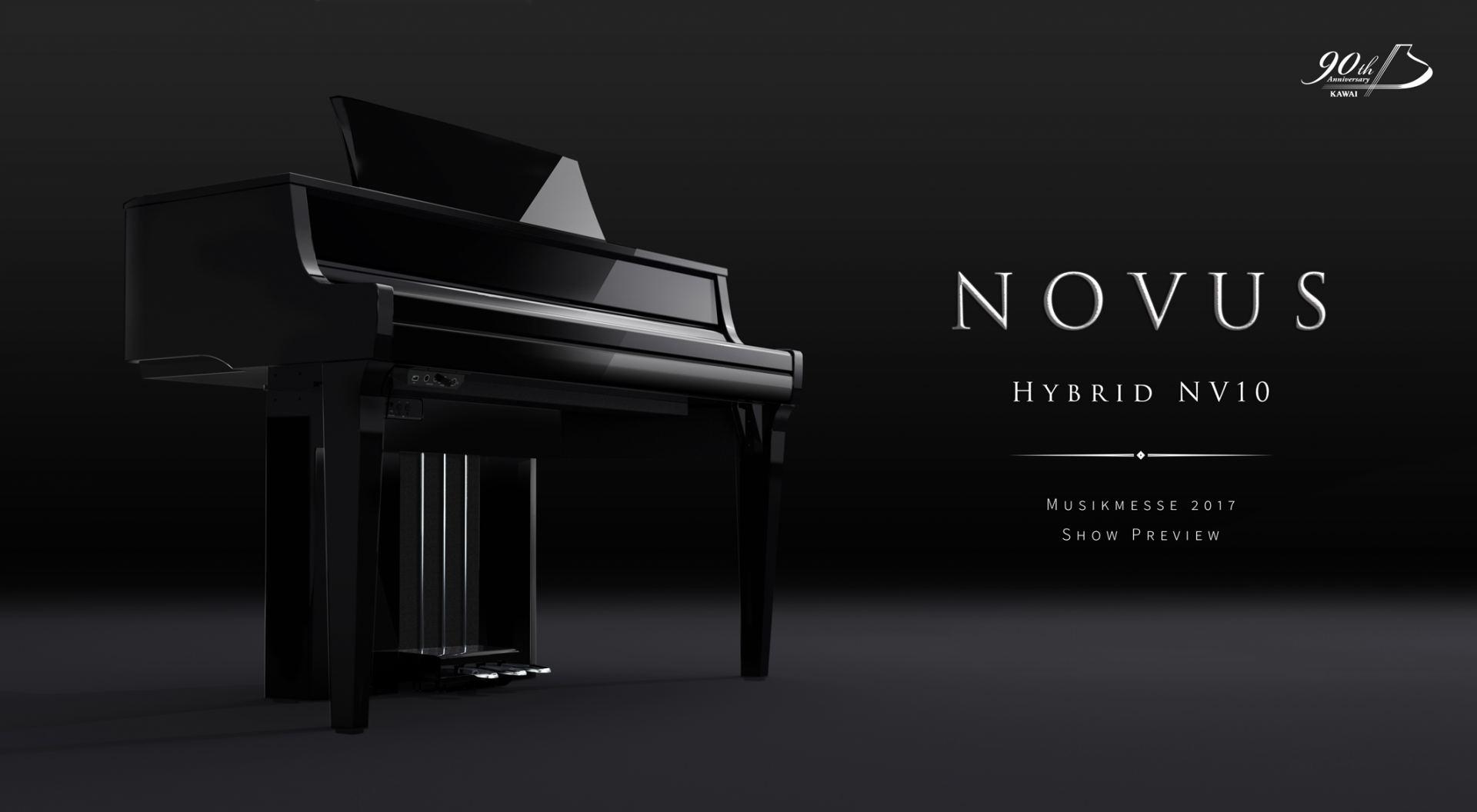 カワイ ハイブリットピアノNOVUS