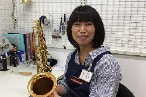 スタッフ写真管楽器修理担当神戸