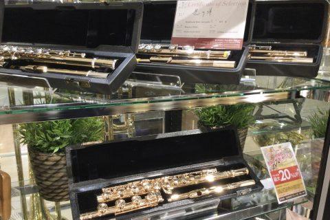 ゴールドフルートフェア 島村楽器