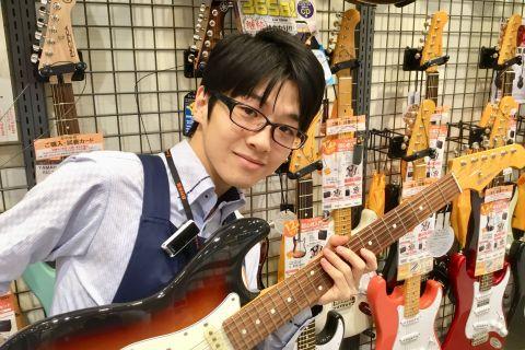 スタッフ写真エレキギター・エフェクター・アンプ坂本