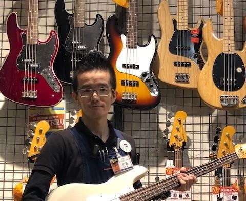 島村楽器小倉店のギターシニアアドバイザー、ギター・ベース・ウクレレ・エフェクター担当の小島です!宜しくお願い致します。