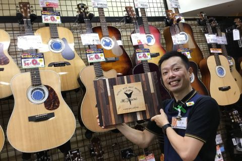 スタッフ写真アコースティックギター・ドラム・ライブイベントや学校訪問久保 宏義