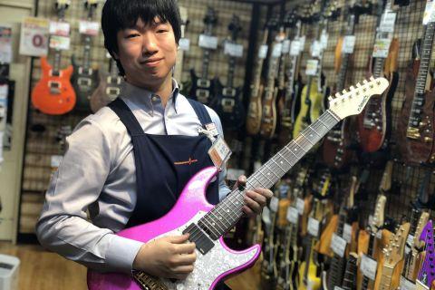 スタッフ写真エレキギター、エフェクター、パーツ、ギターアクセサリー、電子ピアノ吉田 真仁