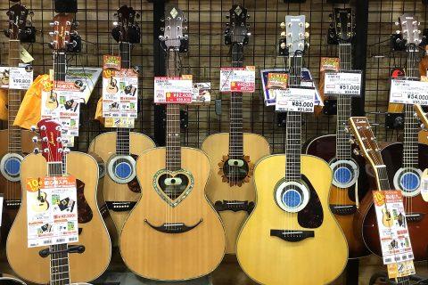 ZEMAITISアコースティックギター店頭画像