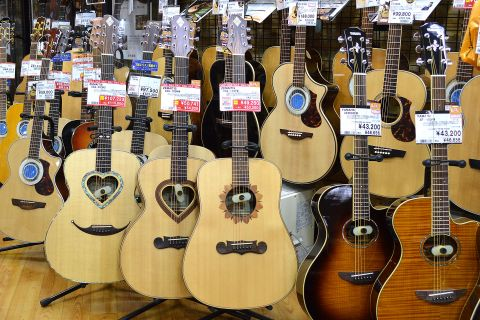 ZEMAITIS_アコースティックギター店頭画像