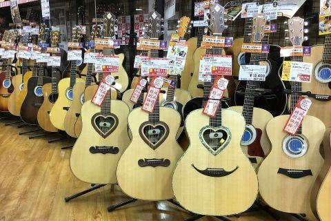 ZEMAITISハート・アコースティックギター店頭画像