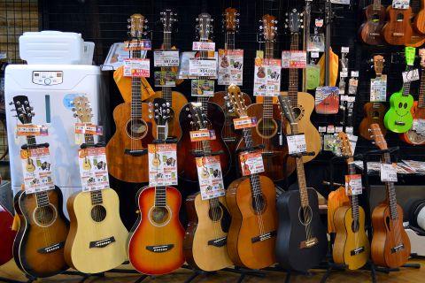 ミニギター店頭画像