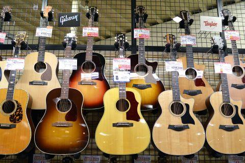 Gibson_SOUTHERN_JUMBO店頭画像