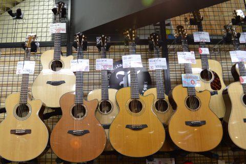 Furchアコースティックギター店頭画像