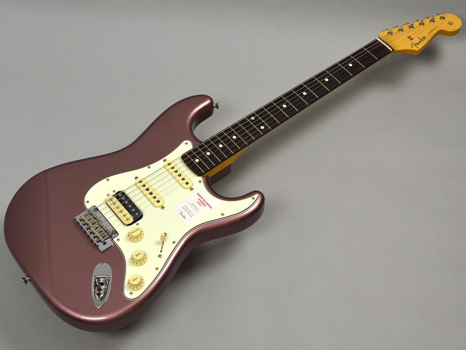 Fender MADE IN JAPAN HYBRID 60S STRATOCASTER HSSトップ画像