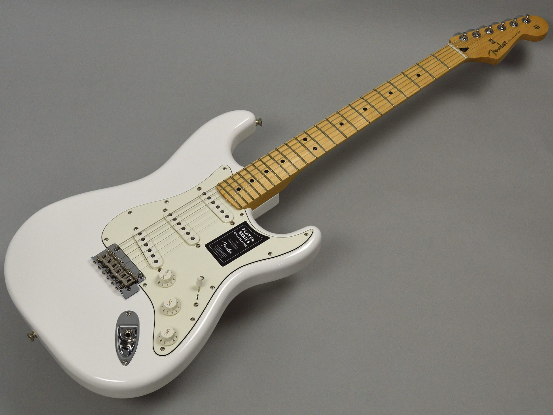 Fender PLAYER STRATOCASTER/Mapleトップ画像