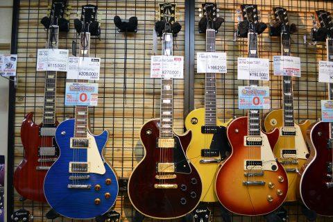 Gibson_Les Paul Custom店頭画像