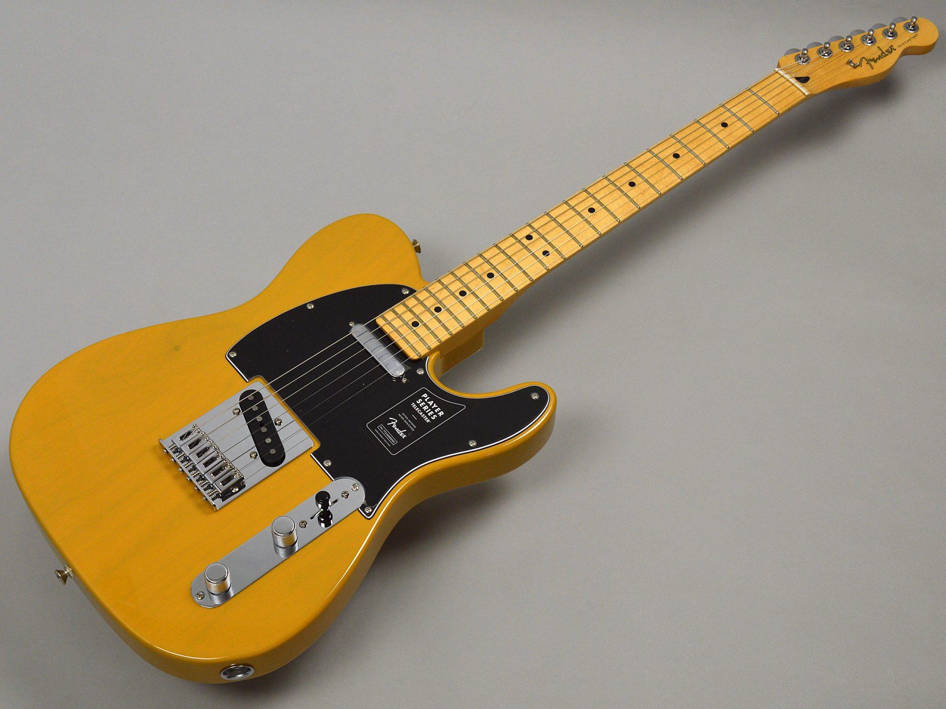Fender PLAYER TELECASTER/Mapleトップ画像