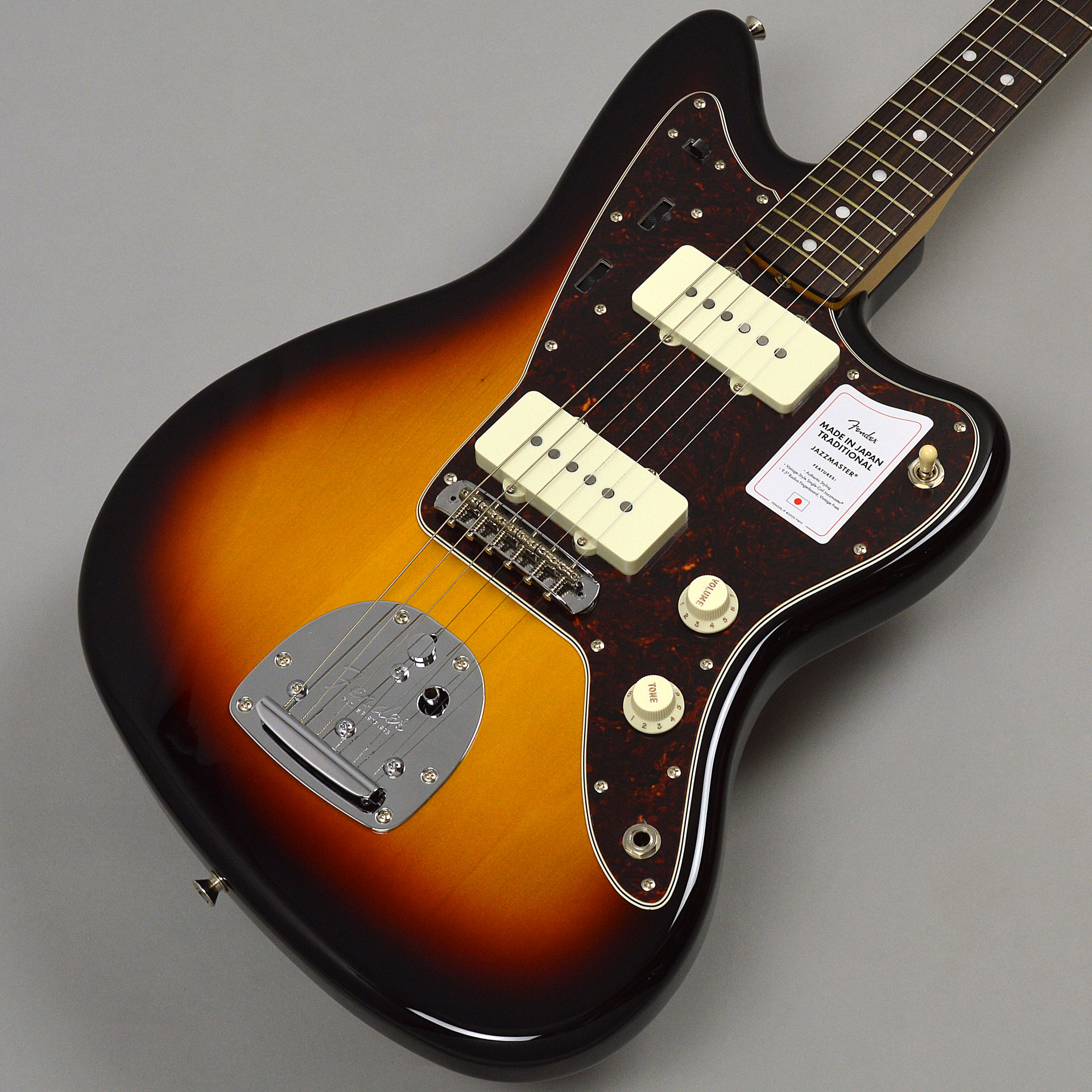 Fender MADE IN JAPAN TRADITIONAL 60S JAZZMASTERサムネ画像