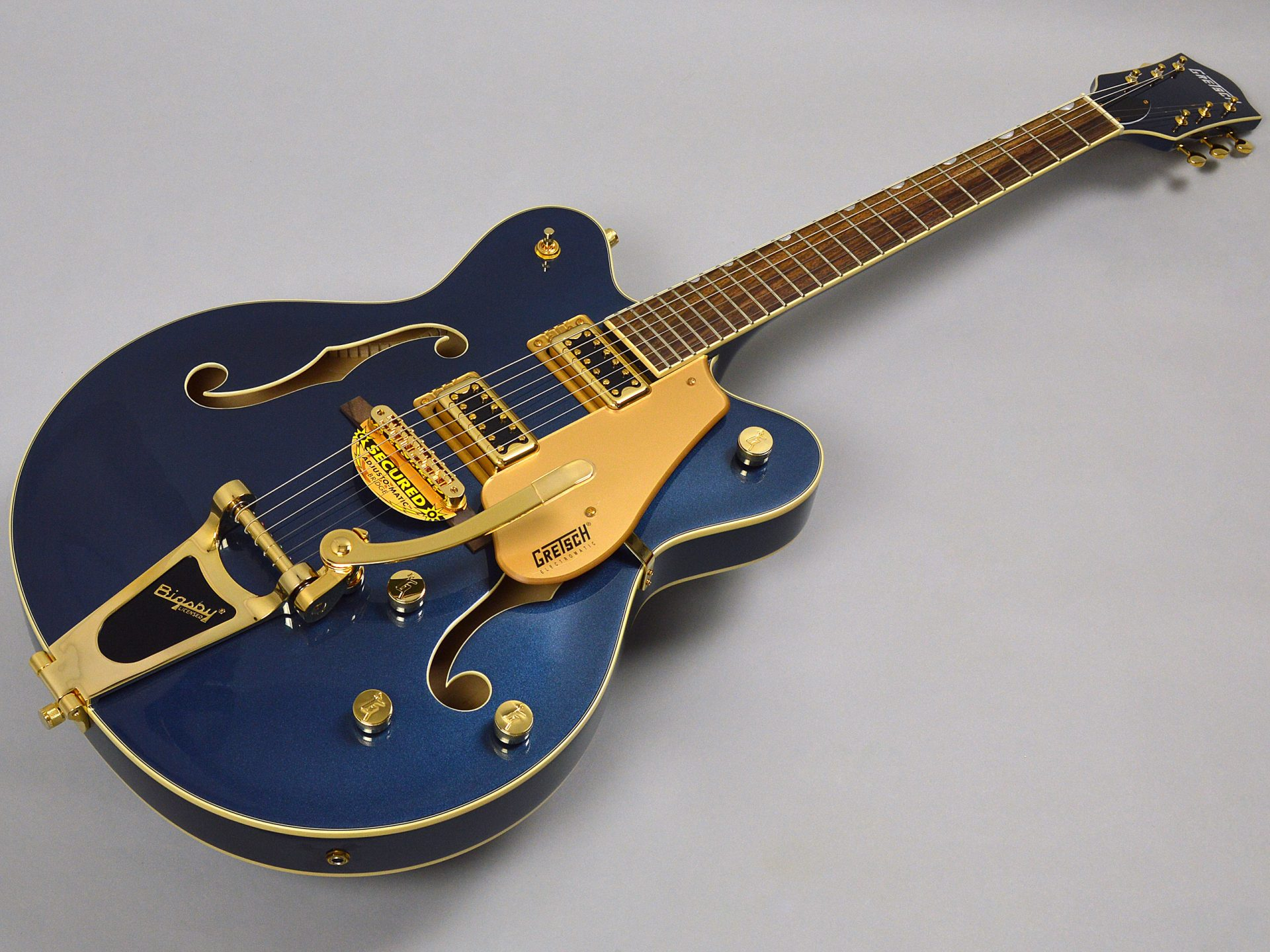 GRETSCH G5422TG Limited Edition Electromatic Hollow Body Double-Cut with Bigsby Cadillac Greenトップ画像
