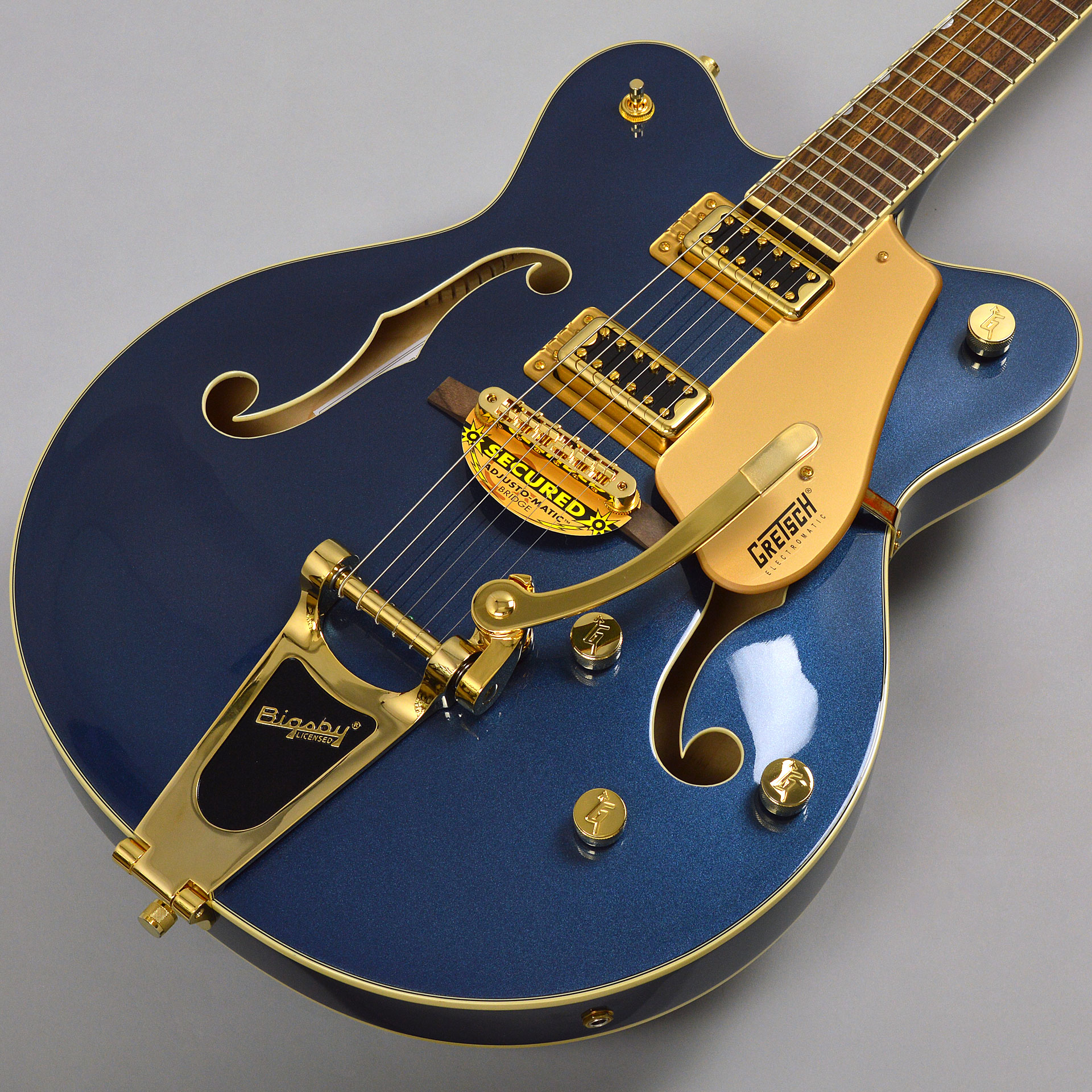 GRETSCH G5422TG Limited Edition Electromatic Hollow Body Double-Cut with Bigsby Cadillac Greenサムネ画像