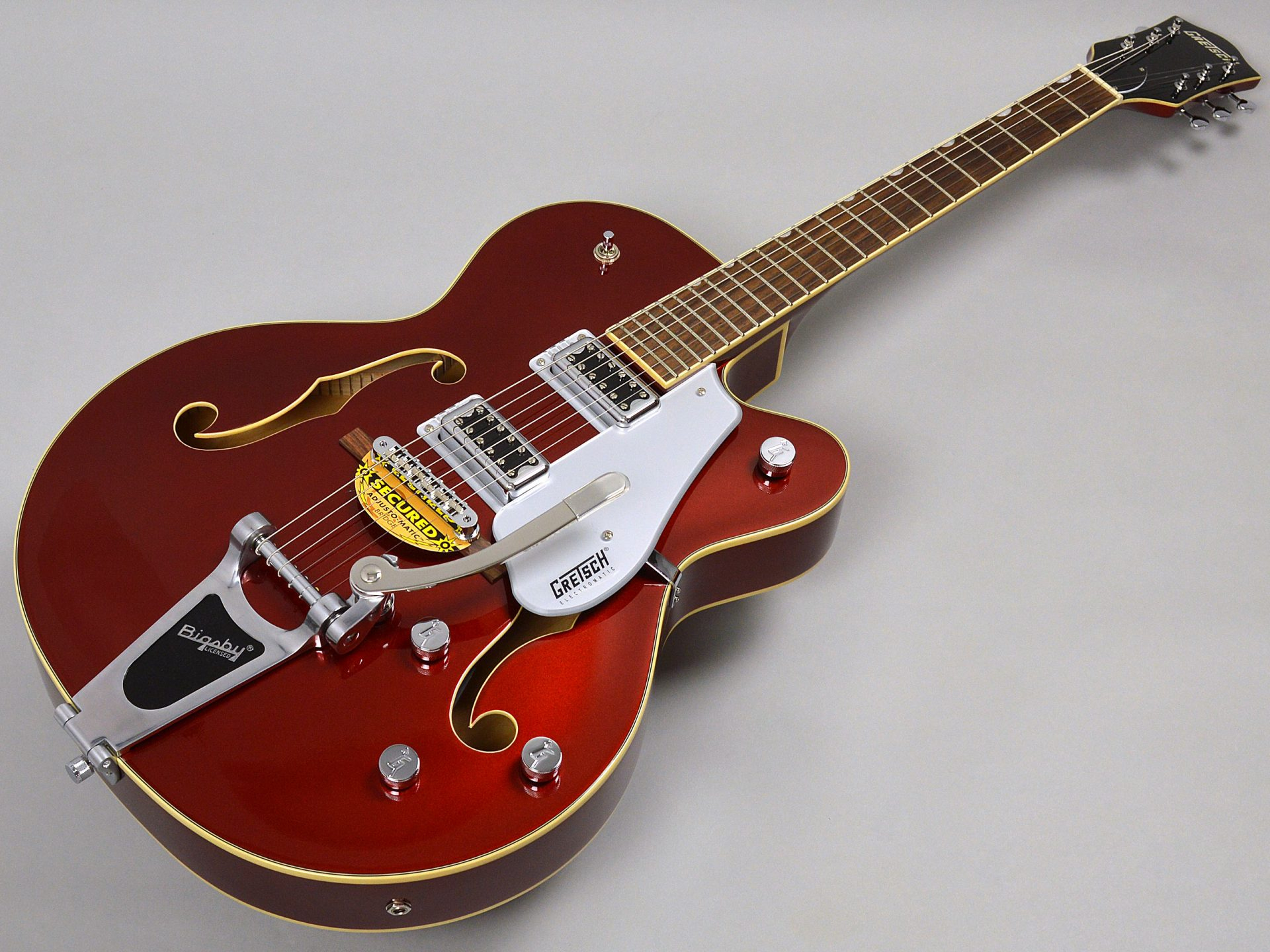GRETSCH G5420T Electromatic Hollow Body Single-Cut with Bigsby Candy Apple Redトップ画像