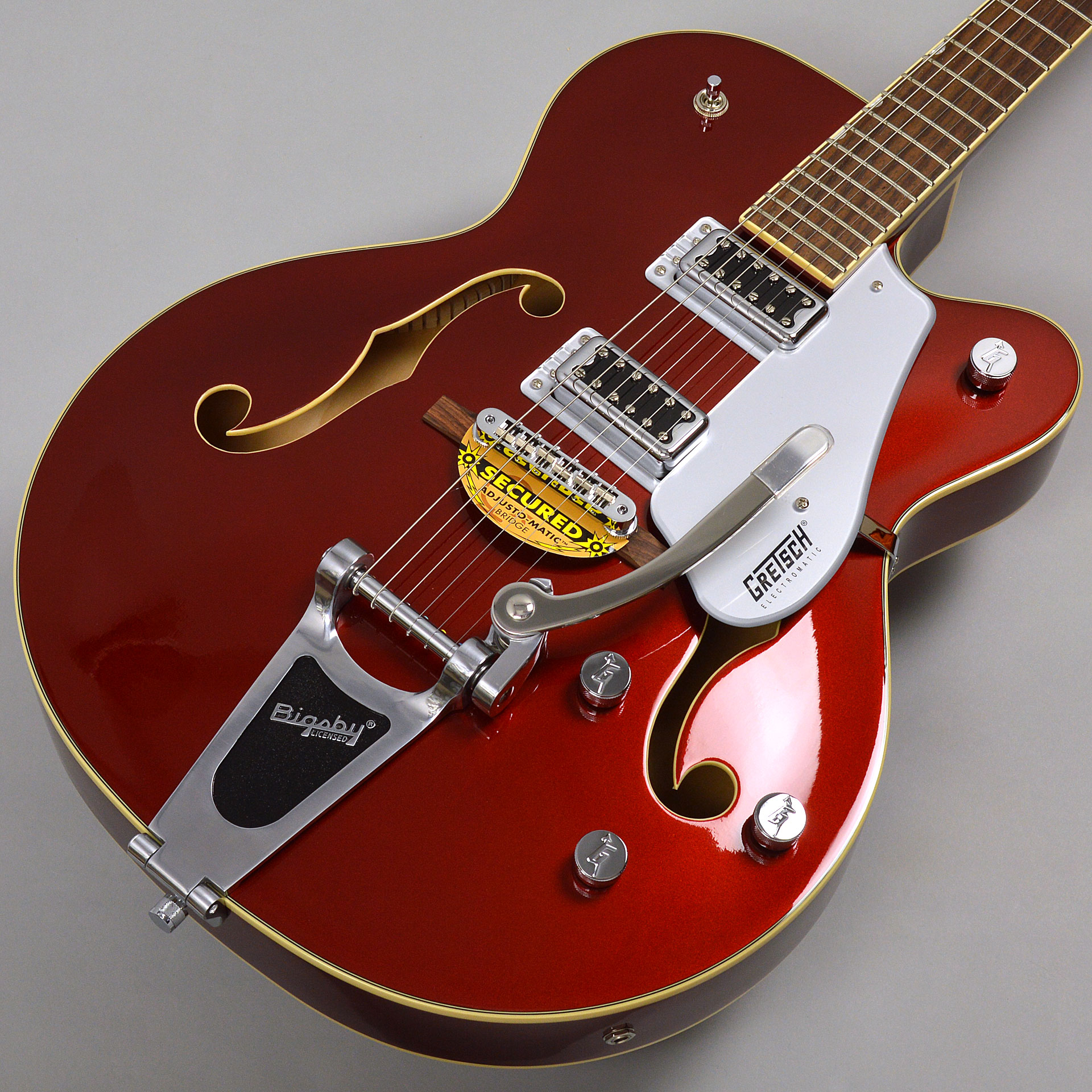 GRETSCH G5420T Electromatic Hollow Body Single-Cut with Bigsby Candy Apple Redサムネ画像