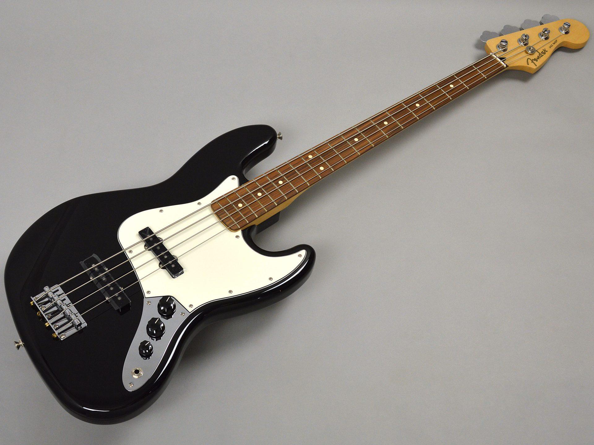 Fender PLAYER JAZZ BASS BLK/PFトップ画像