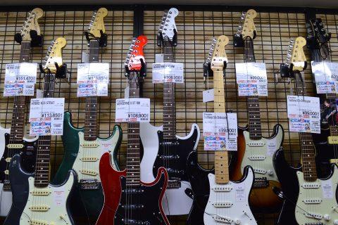Fender MIJ AERODYNE II ST店頭画像