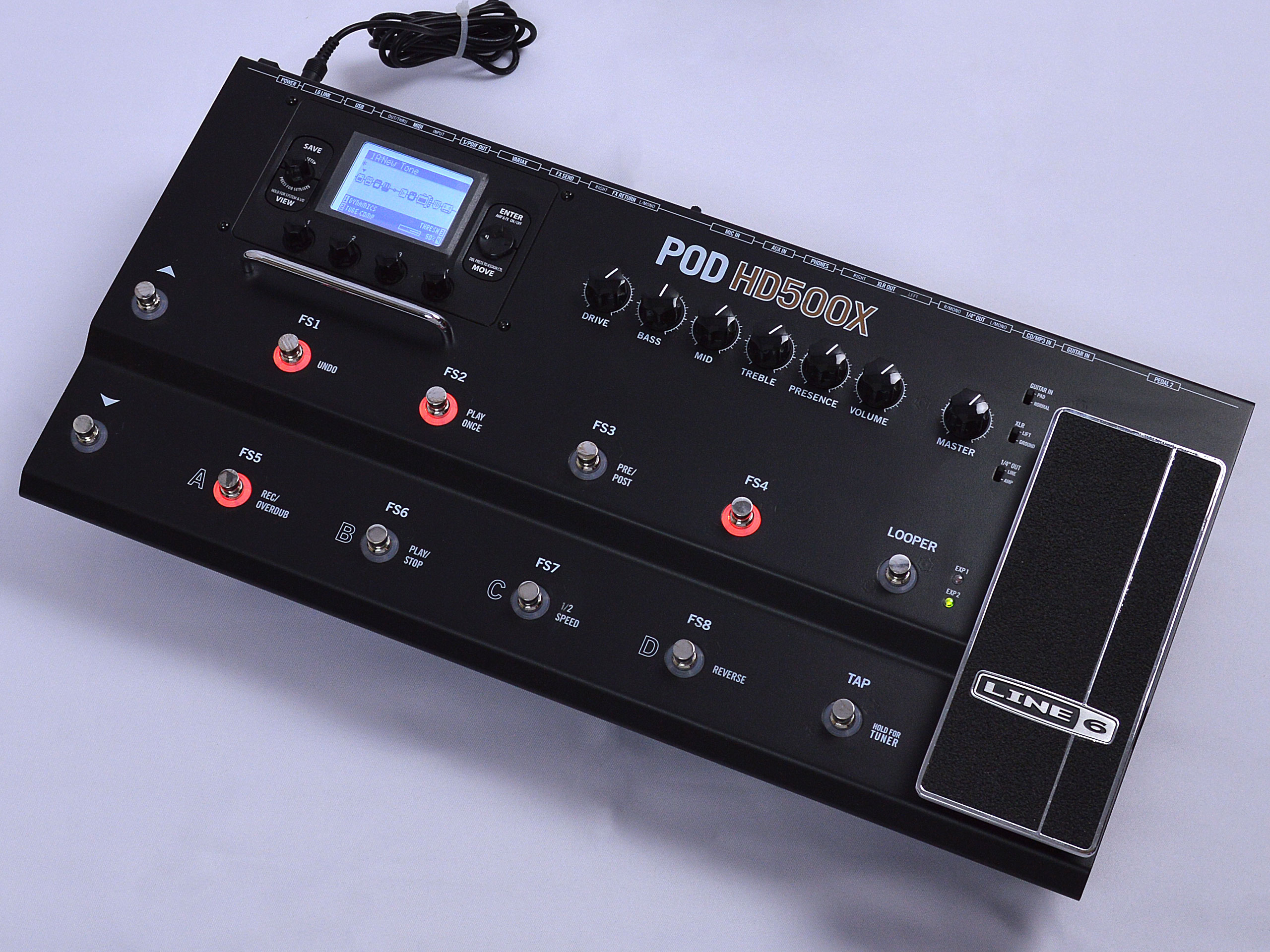 LINE6 【中古】POD HD 500Xトップ画像