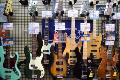 STERLING by MUSICMAN RAY34HH店頭画像