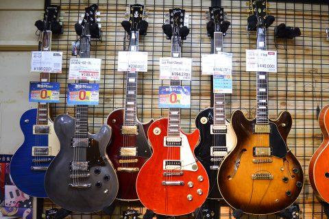 Gibson_Ryoga_Historyエレキギター店頭画像