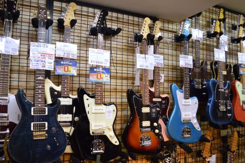 Fenderジャズマスター店頭画像