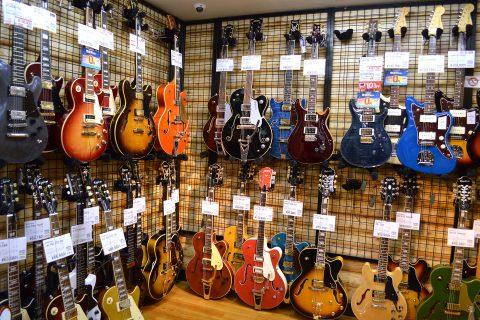 GRETSCHエレキギター店頭画像
