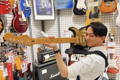 スタッフ写真ギター、ベース、アンプ、弦岩谷 慎太郎