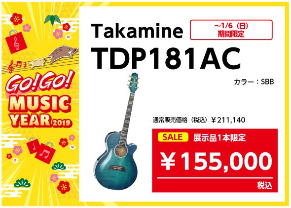 タカミネ TDP181AC