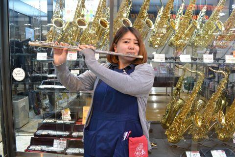 スタッフ写真管楽器メンテナンス髙木
