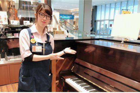 スタッフ写真電子ピアノ・アコースティックピアノ・キーボードアクセサリー・音楽教室緒方