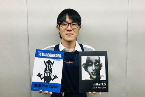 スタッフ写真担当 アンプ・エフェクター・ドラム関連アクセサリー菊野 慎太郎