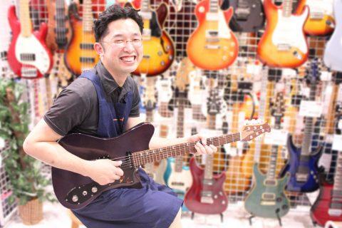 スタッフ写真担当 ギター全般・弦 中川