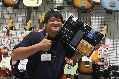 スタッフ写真エレキギター・エフェクター・PA・デジタルアドバイザー/ギターアドバイザー髙田