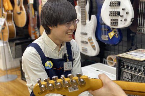 スタッフ写真エフェクター・アンプ担当(ギターアドバイザー)河合