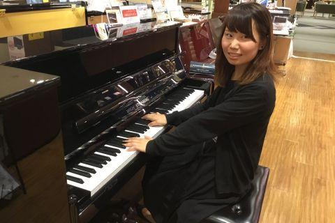 スタッフ写真ピアノインストラクター磯崎