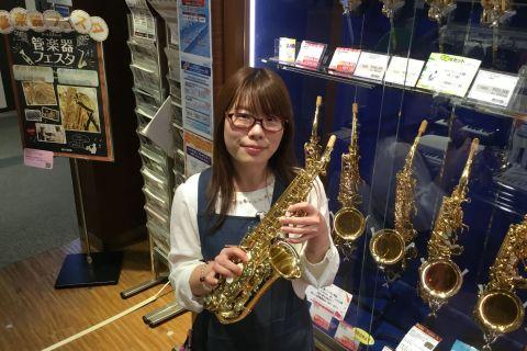スタッフ写真管楽器/楽譜/ファンシー雑貨 担当田中