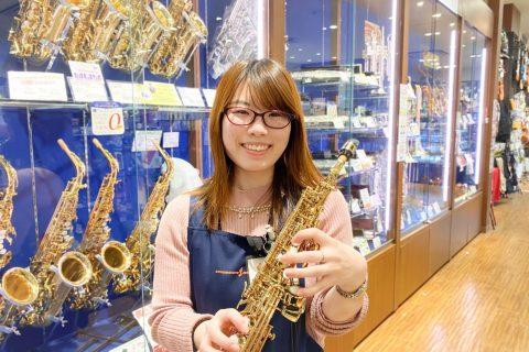 スタッフ写真管楽器/楽譜/音楽雑貨/キーボード田中舞衣(たなかまい)