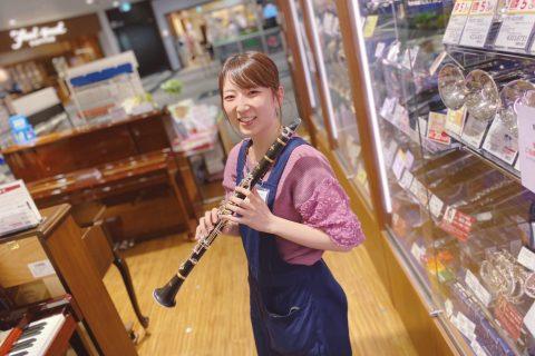 スタッフ写真音楽教室(音楽教室アドバイザー)/管楽器(管楽器アドバイザー)樋田春菜