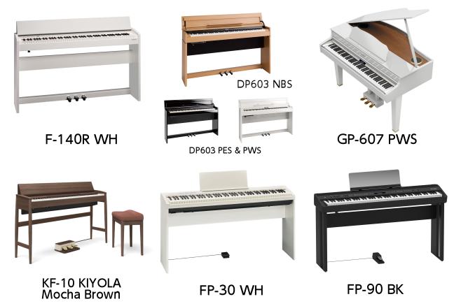 201711ROLAND展示電子ピアノ2